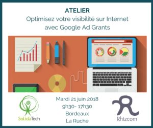 Atelier Ad Grants - juin 2018